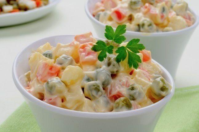 Salade russe au thermomix. Voici la recette de la salade russe, facile et simple a réaliser avec votre robot thermomix.