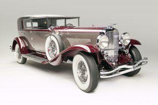 Duesenberg Model J Town Cabriolet – 1930