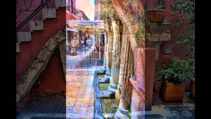 ΡΕΘΥΜΝΟ μια βόλτα στη παλιά πόλη - YouTube
