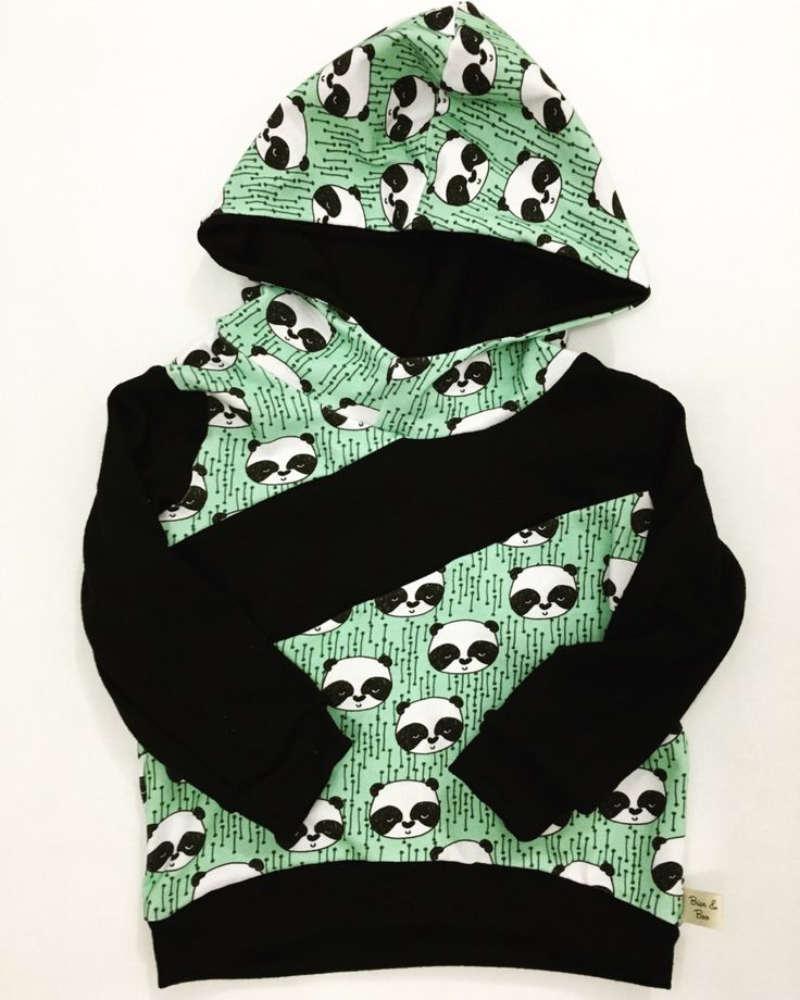 Baby/Toddler Hoodie / Pandas / pullover / oddler sweater by BriarAndBoo on Etsy