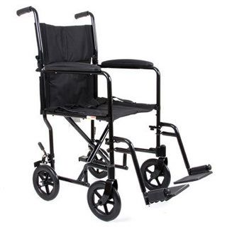 CareCo AluLite Travel Chair - Compact and simple to transport wheelchair. Get it only at CareCo for £69.99.