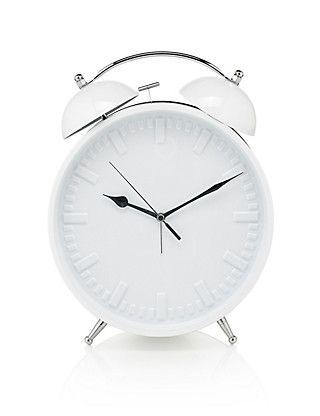 Large Contemporary Alarm Clock | M&S