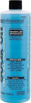 Nail Polish Remover: Onyx Professional Soak Off Shellac And Gel Nail Polish Remover Coconut Scented -> BUY IT NOW ONLY: $30.77 on eBay!