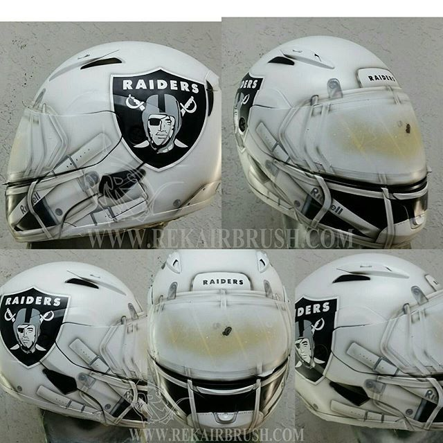 Rekairbrush Custom Airbrushed Motorcycle Helmet 115