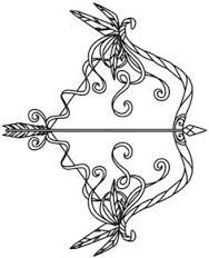 bow arrow tattoo - Google Search