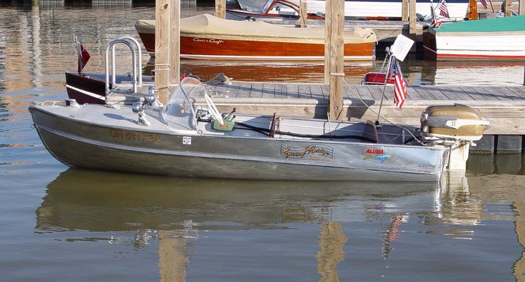 17 best images about vintage boats on pinterest feather for Best aluminum fishing boats