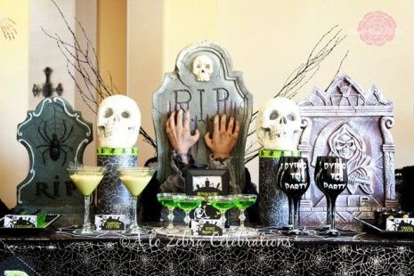 28 best Halloween Party Ideas images on Pinterest Kitchens - adult halloween party decor