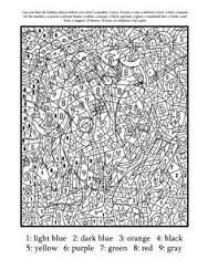 Color By Number For Adults Hard Difficult Coloring Pages Printable And Book To Print Free Find More Online Kids