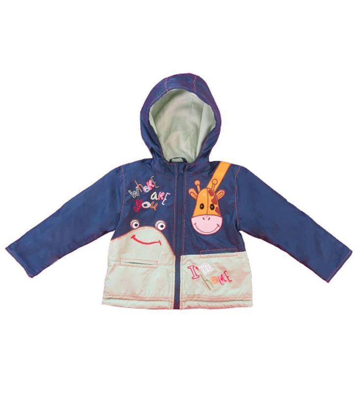 Tøff og moteriktig vinterjakke for barn 2-5 år