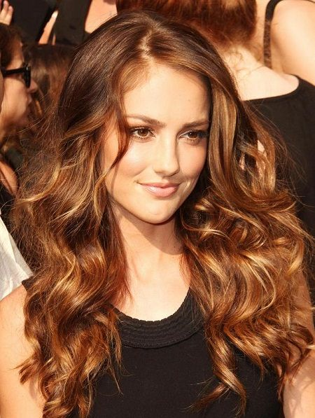 golden chocolate brown hair with highlights Chocolate Brown Hair with Highlights Ideas