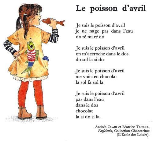 LE POISSON D'AVRIL (Andrée Clair et Béatrice Tanaka)