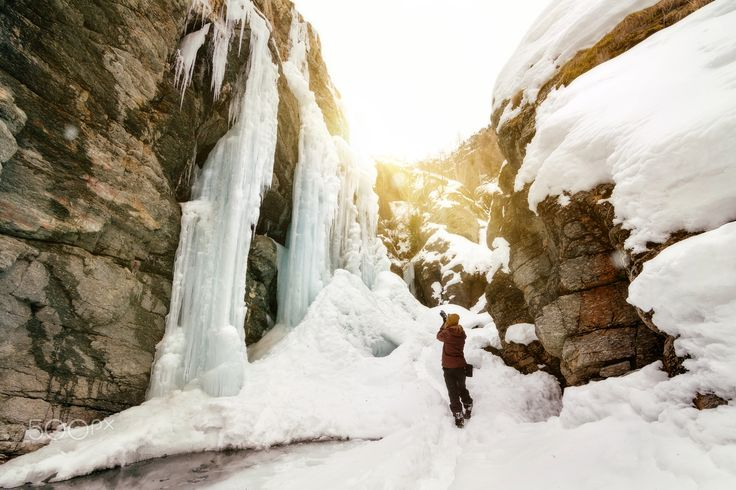 Ice Waterfall - null
