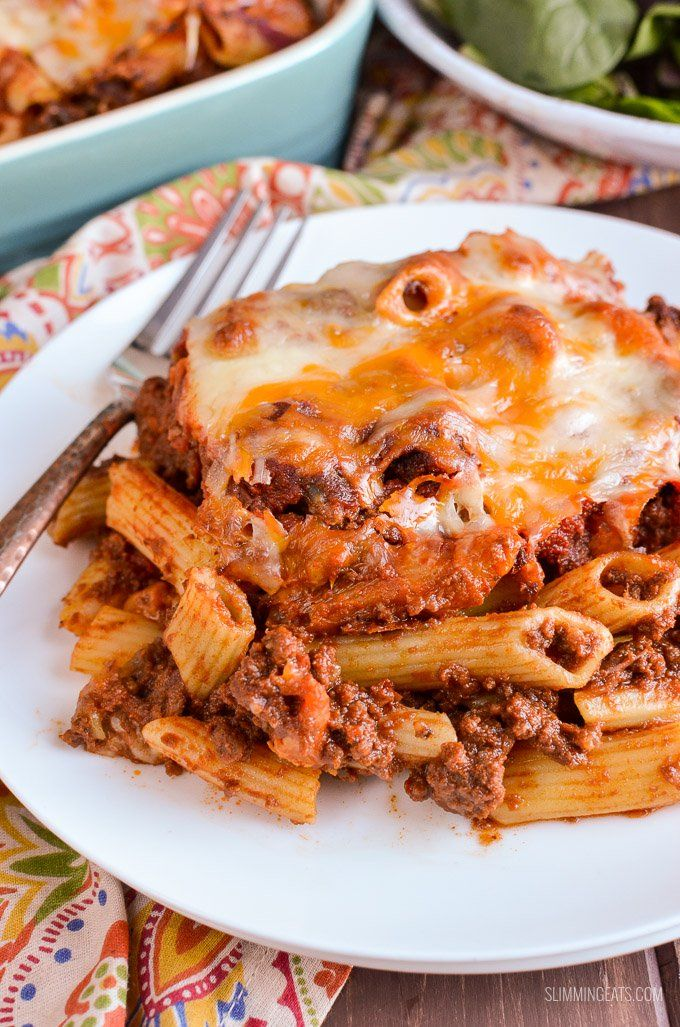 What better way to use up some leftover Sloppy Joes mix than in this delicious Sloppy Joe Pasta Bake, for a perfect family meal.