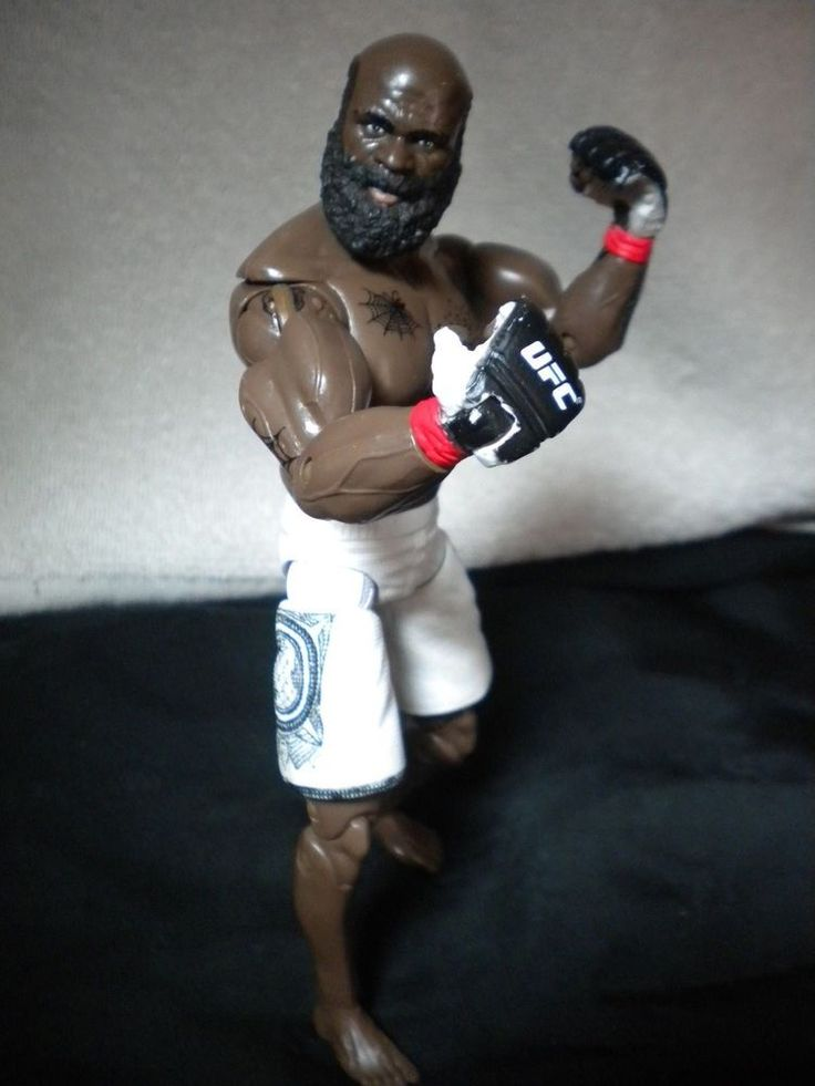 "UFC Kimbo Slice Kevin Ferguson 8"" Action Figure Tapout Ultimate Fighter MMA…"