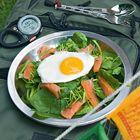 Een heerlijk recept: Spinaziesalade met gerookte zalm en gebakken ei