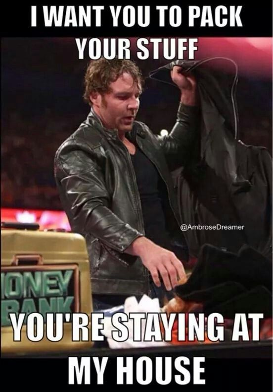 You don't have to tell me twice Mr. Ambrose. Actually, you don't even have to tell me ONCE. ♥