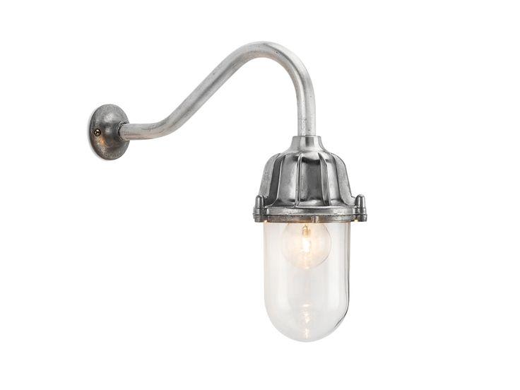 Lampada da parete in alluminio e vetro 100516 - THPG