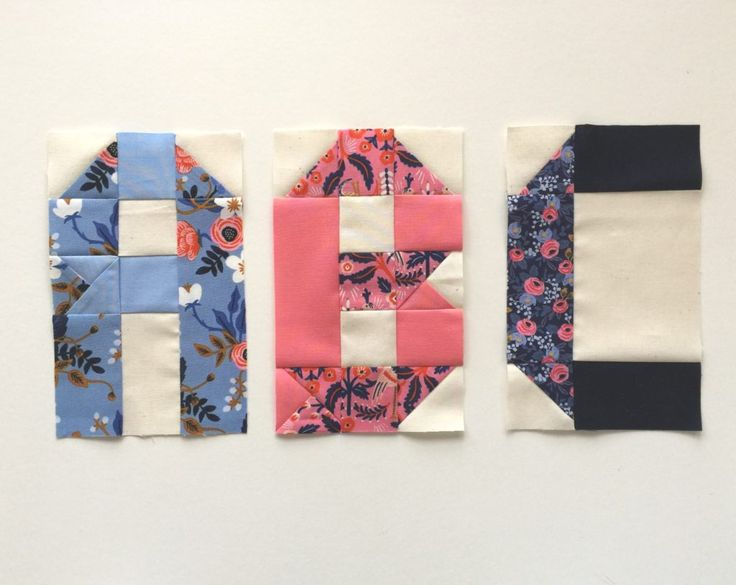 Alphabet Quilt Tutorial (with a free PDF pattern download for the letters ABC). This alphabet quilt tutorial is a good pattern for beginners because the HST squares are generously sized, meaning there's lots of wiggle room when it comes time to crop them.