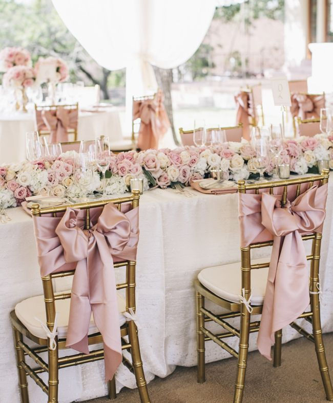 Wedding chair decorating ideas 7 wedding inspiration for Decorating chairs for wedding reception