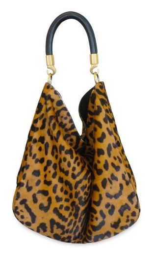 Love this leopard print bag! Rock it with a LBD and blazer!