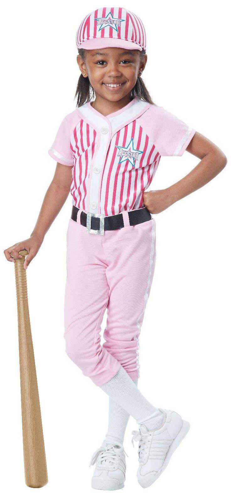 baseball player costume for girls from costumeexpresscom - Baseball Halloween Costume For Girls