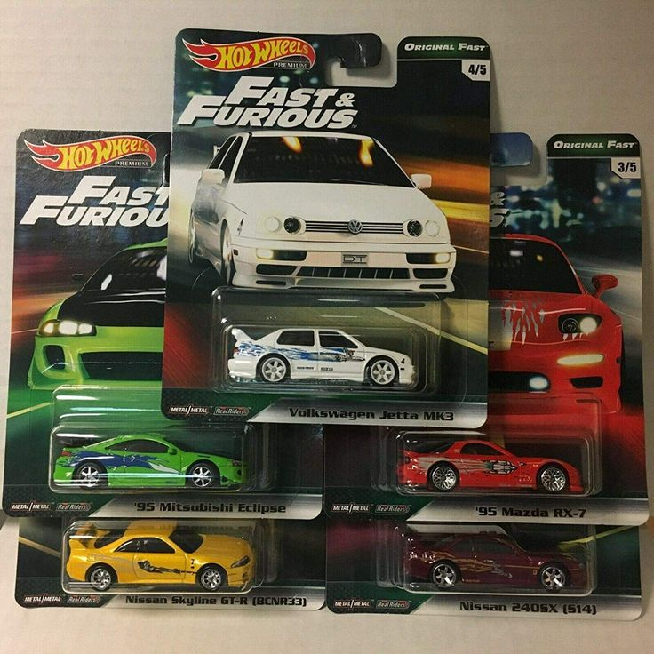 Hot Wheels 2019 Fast & Furious Premium B