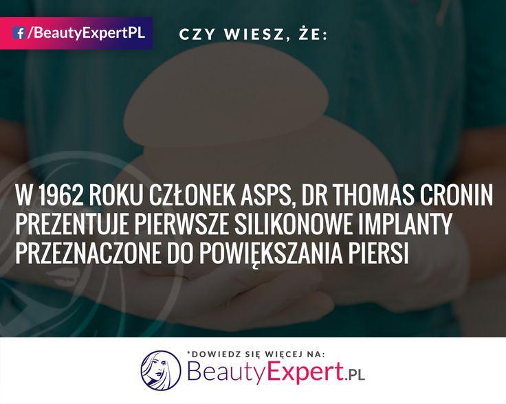 Obecne implanty piersi są przede wszystkim o wiele bezpieczniejsze :) #BeautyExpert #ImplantyPiersi #PowiększaniePiersi #PowiększanieBiustu #CiekawostkiMedyczne