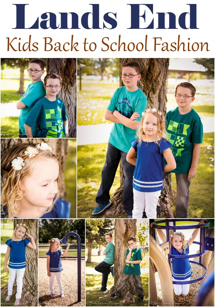 Lands End Durable fashion for back to school, Kids Fashion