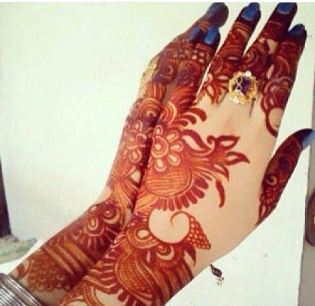 Pretty Henna stain