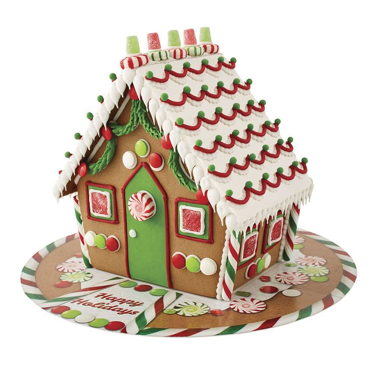 So much candy, so much icing, a mega house. This Gingerbread House Kit is BIG FUN to decorate. Kit includes lots of icing, candy and a printed board to make your decorated house a complete holiday scene. So gather everyone together to decorate this mega house during the holidays! It is a gingerbread activity everyone will remember!