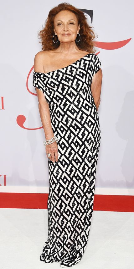 CFDA Awards 2015 Best Red Carpet Looks - Diane von Furstenberg from #InStyle