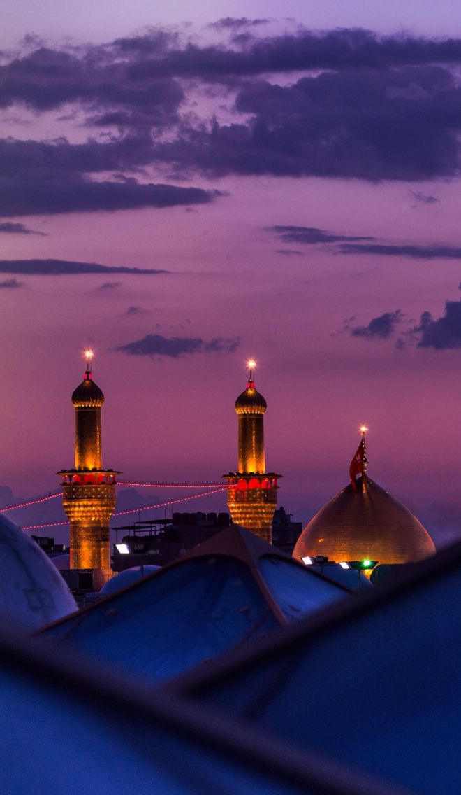 Mosque of Imam Hussain in Karbala, Iraq