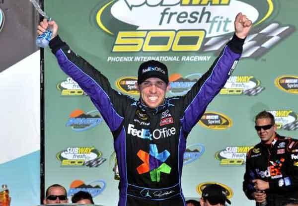 2012 Phoenix Win Denny Hamlin