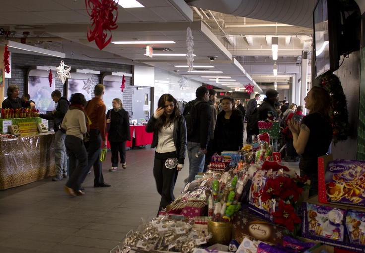Holiday Marketplace happening today at the Fennell Campus