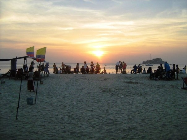Playa Blanca, Santa Marta - Colombia