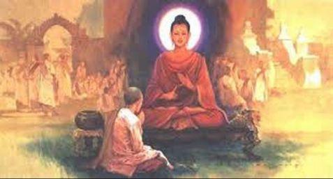 Buda y Ananda