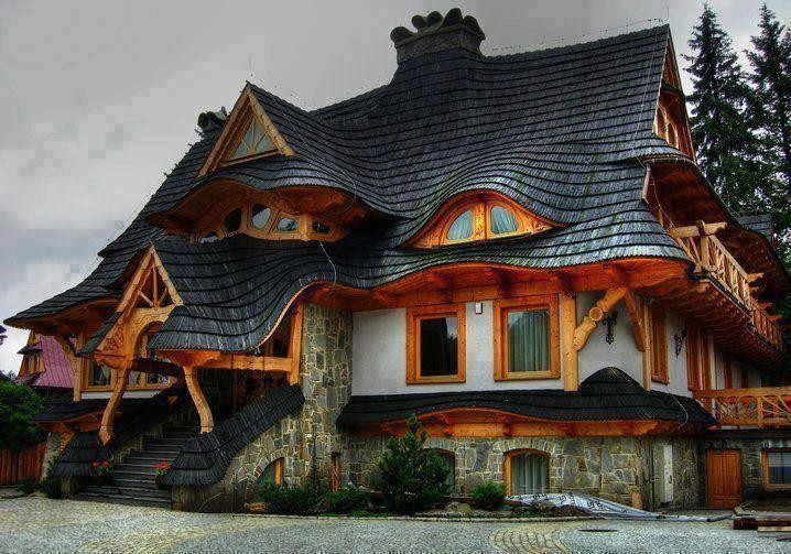 Creative Home Design, Zakopane, Poland.