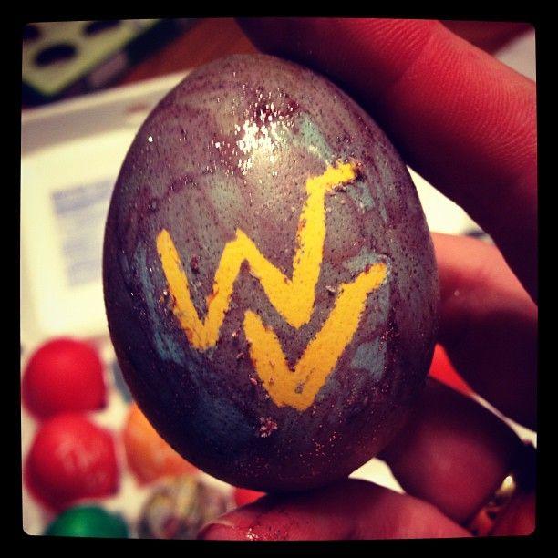 WVU Easter Egg :): Wvu Mountaineers, I Photo, Wvu Fan, Easter Eggs, Mountaineer Spirit, Instagram Photos