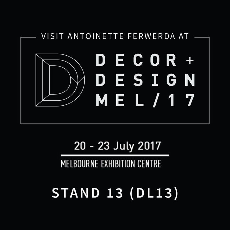 """48 Likes, 3 Comments - Antoinette Ferwerda (@antoinetteferwerda) on Instagram: """"What a fantastic first day & huge thanks to the lovely peeps who visited my stand @decordesignshow…"""""""
