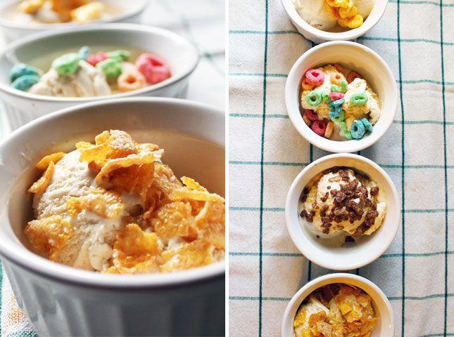 Recipe Hack: Momofuku's Cereal Milk Ice Cream | Brit + Co.