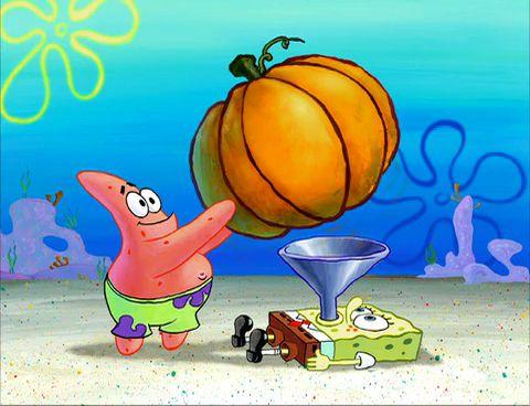 Spongebob Pumpkin Spice Meme
