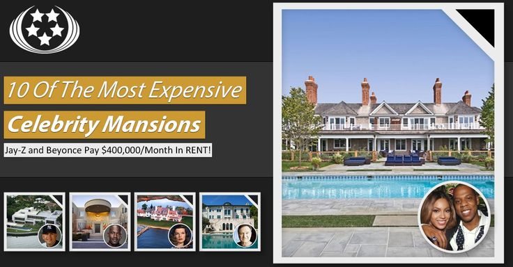 10-Of-The-Most-Expensive-Celebrity-Mansions-Featured