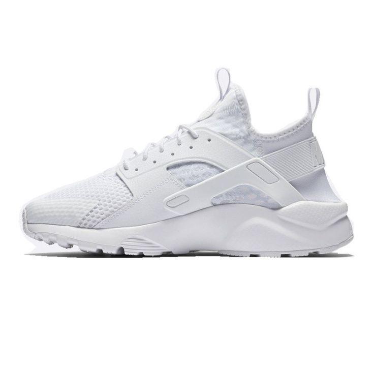 Nike Air Huarache Run Ultra BR Triple White 833147-100 Men's Running shoes