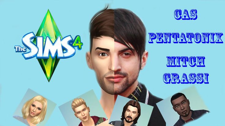 The Sims 4 CAS - Pentatonix - Mitch Grassi