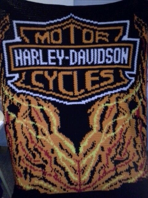 Free Harley Davidson Crochet Afghan Pattern : 17 Best images about Things I have made on Pinterest ...