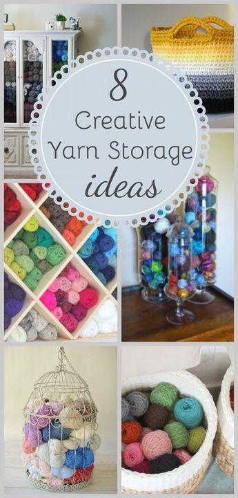 Yarn Storage Ideas Organization Start Using Your Extra Yarn To