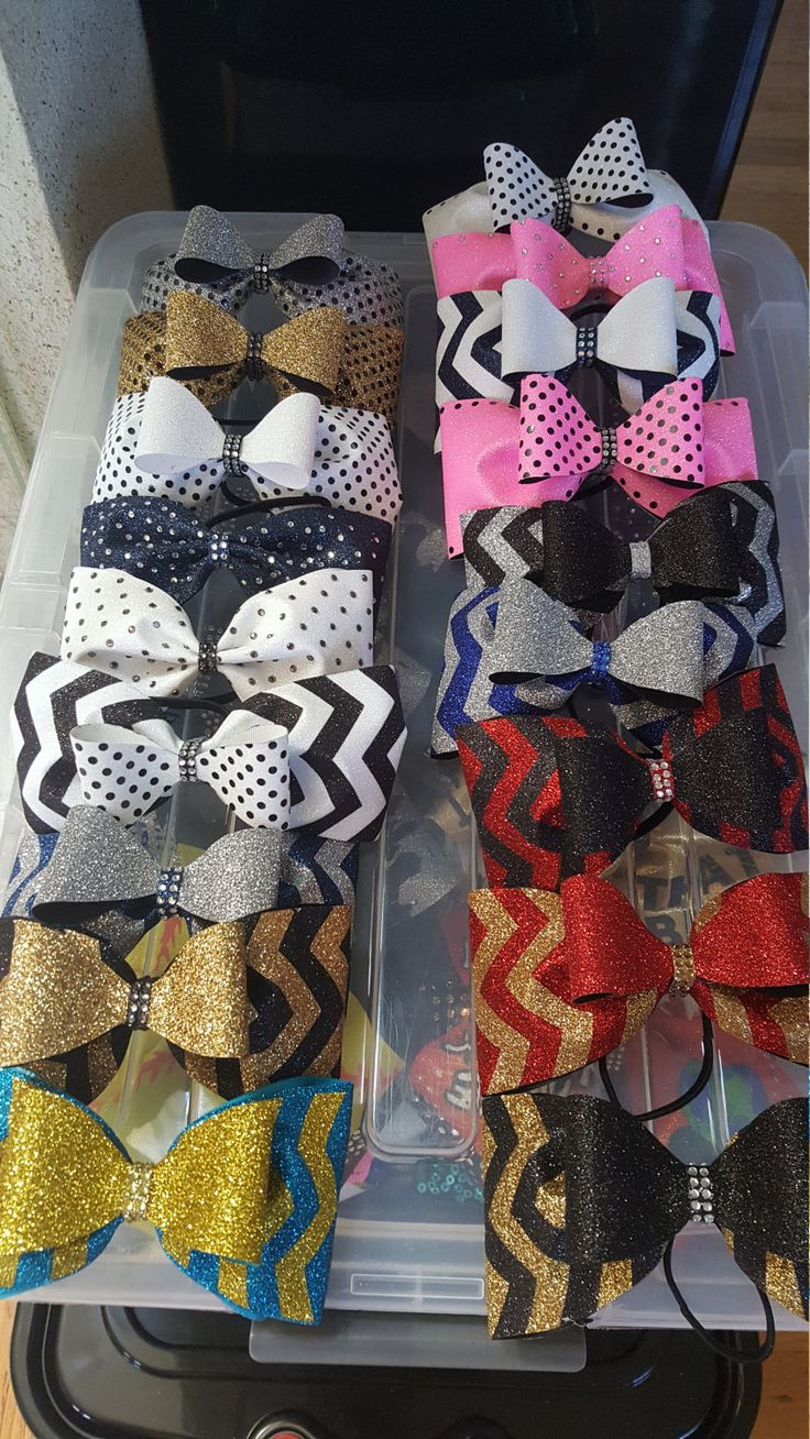 Cheer bow holder for cheer bows and hair bows cheer bow hanger - Tailless Bow Over Bow Cheer Bow By Glamourbowsbyanna On Etsy Bow Holderscheer Bowscheerleadinghair