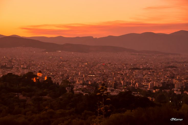 https://flic.kr/p/w9RgA2 | Αθήνα - Θέα από Φιλοππάπου