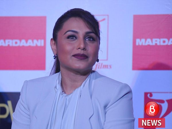Here's when Rani Mukerji is planning to have her second child