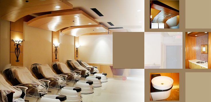 Nail salon design salon design and nail salons on pinterest for 24 hour nail salon philadelphia